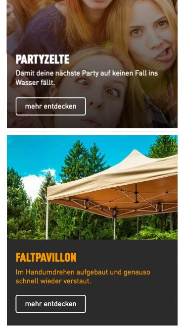 Mobiles Webdesign Toolport