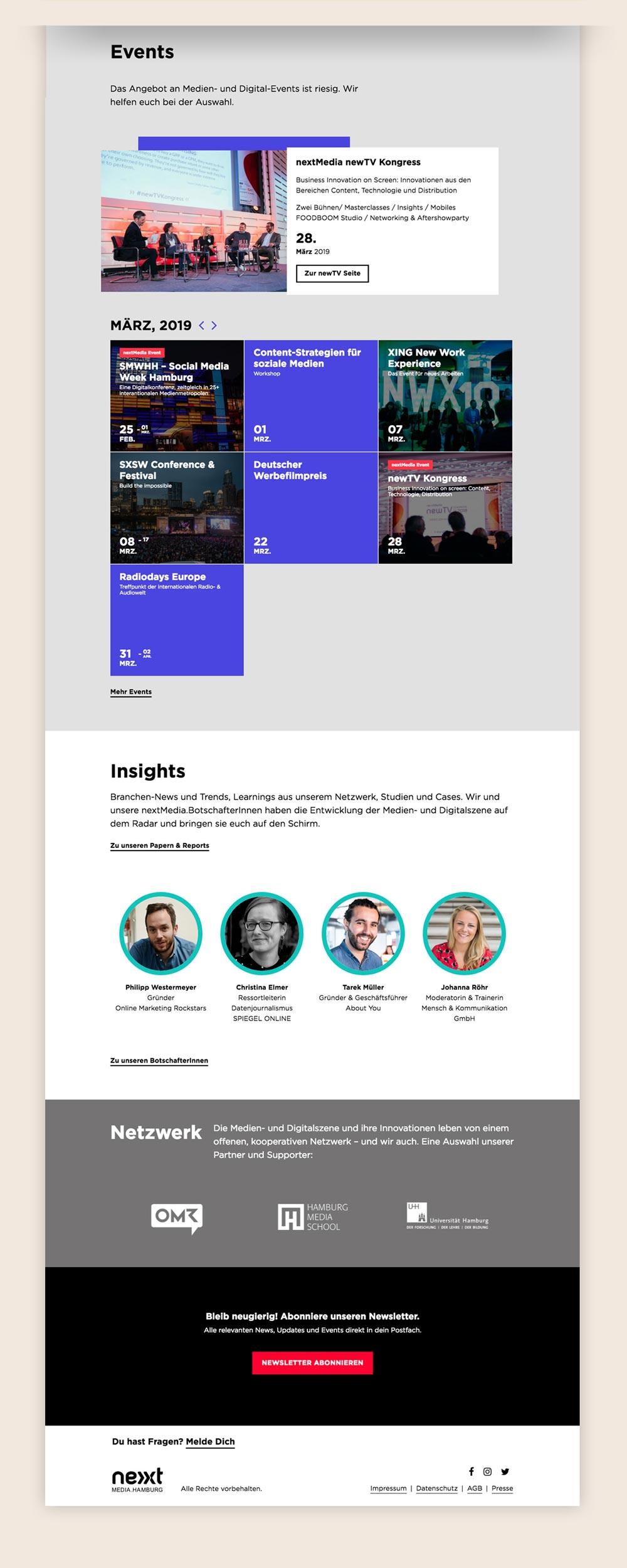 Webdesign Agentur Hamburg responsive Webdesign nextmedia