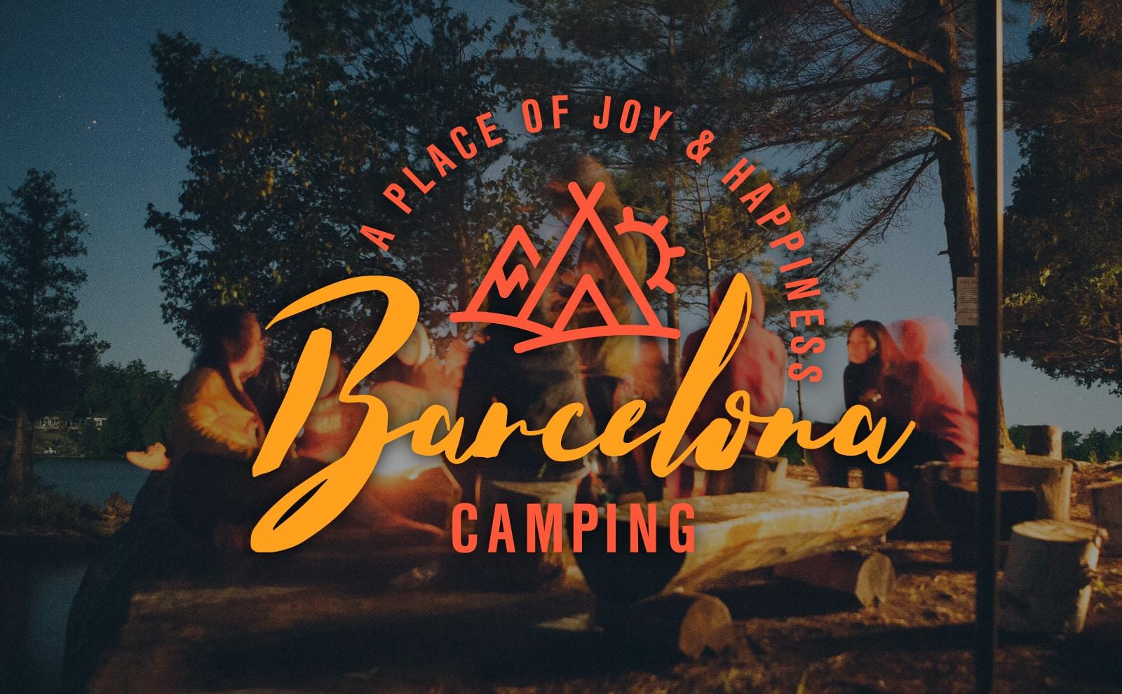 Logo Barcelona Camping Campsite