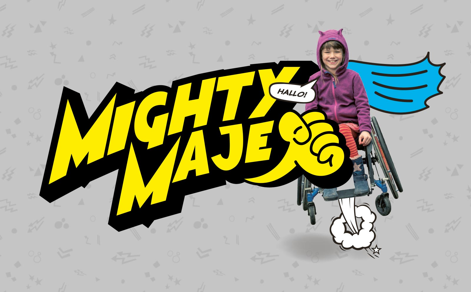 Spenden-Logo Mighty Maje