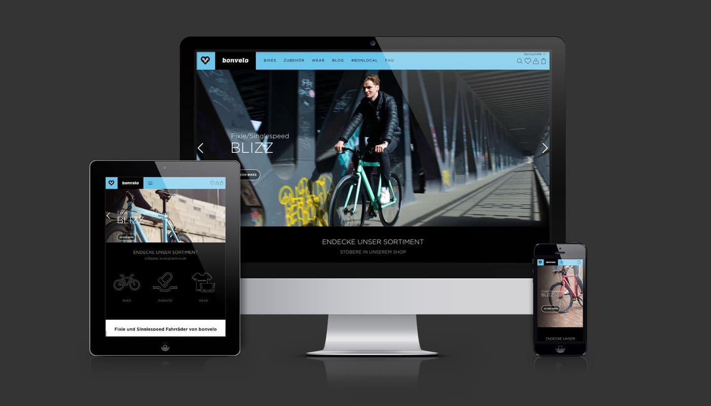 Shopware-Webshop bonvelo