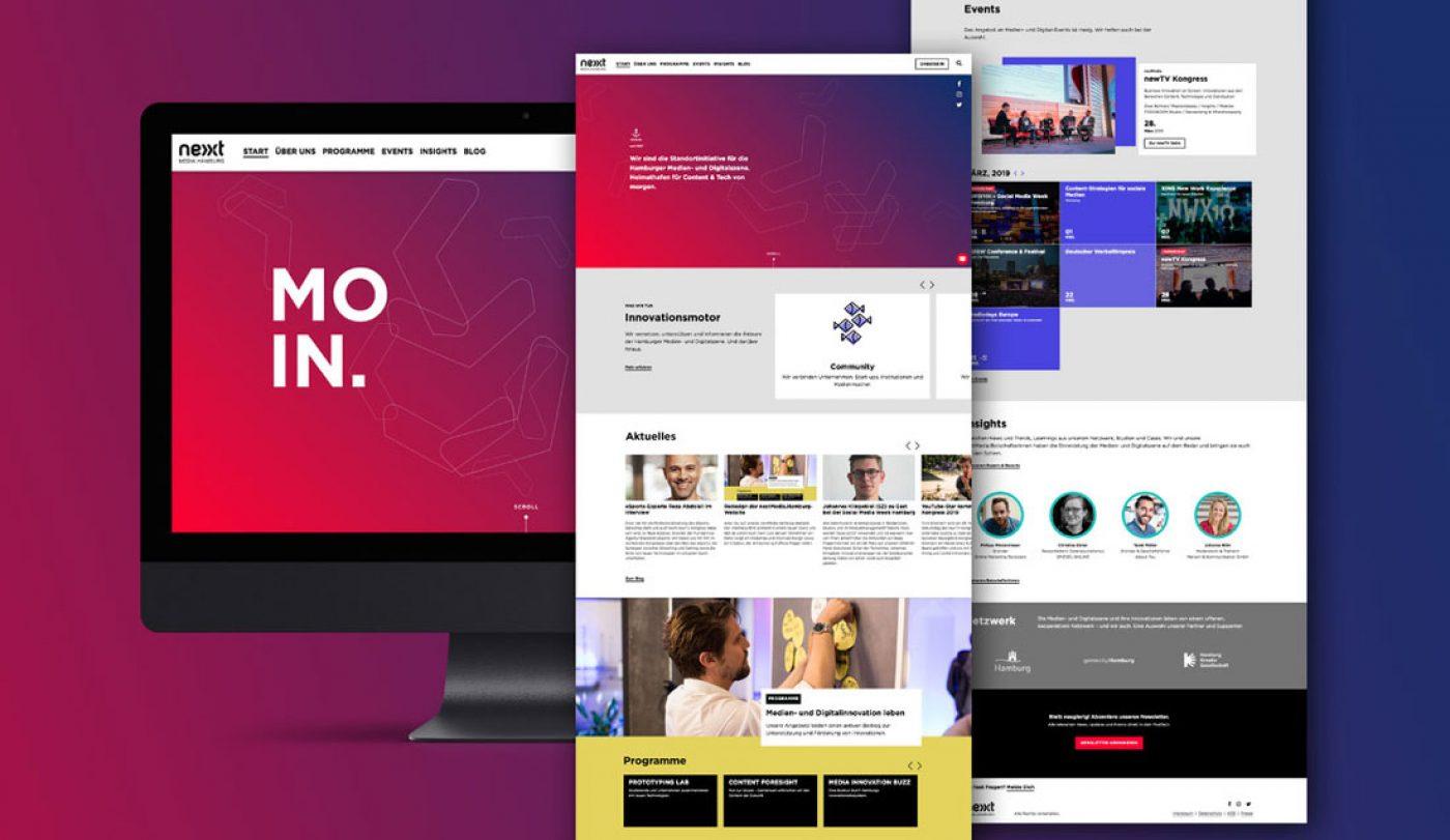 next media Webdesign